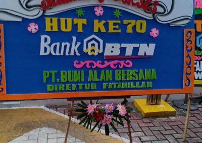 Bunga Pappan HUT Bank BTN
