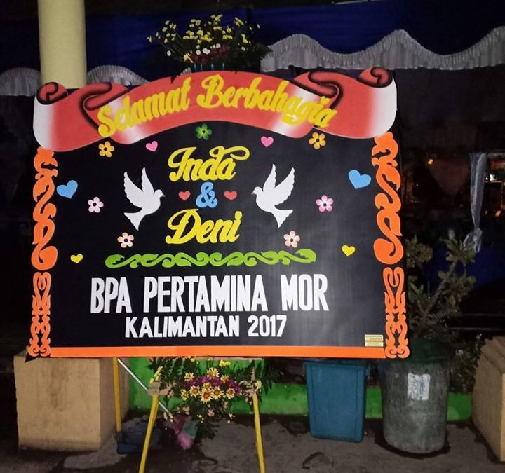 Toko Papan Bunga di Banjarbaru
